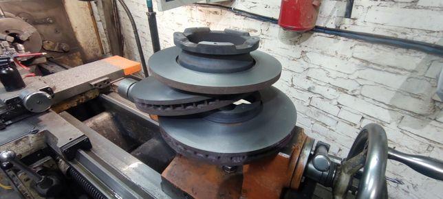Проточка тормозных дисков  и токарные работы