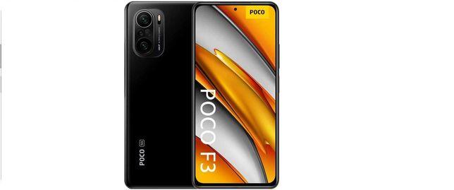 POCO F3 5G 8/256GB-NOVO SELADO -2 Anos Garantia