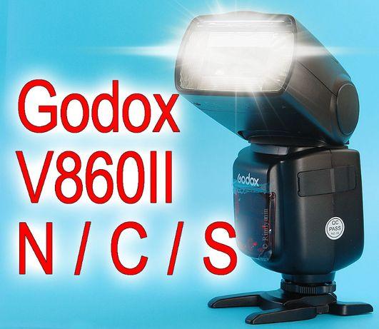 Godox V860IIC V860IIS V860IIN Canon Sony Nikon В Наличии.Гарантия VB18