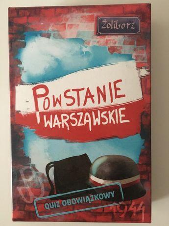 Powstanie warszawskie - gra edukacyjna