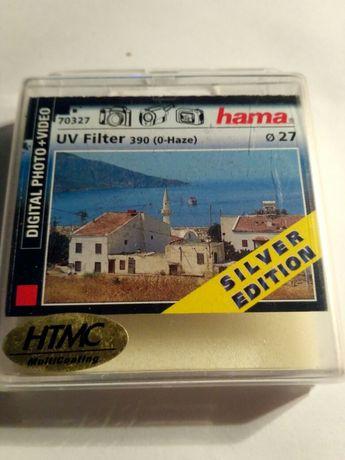 Filtr Hama UV 390 (O-Haze), 27,0 mm, powlekany HTMC, srebrny