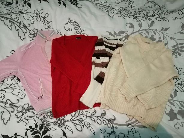4 вещи(свитер, мастерка, кардиган, свитер оверсайс)