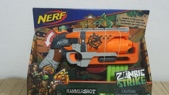 Бластер Нерф Зомби Страйк Хаммершот Nerf Zombie Strike Hammershot Blas
