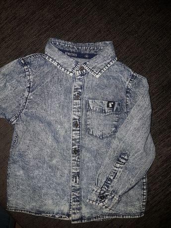 Koszula reserved sportowa 92 miekka jeans