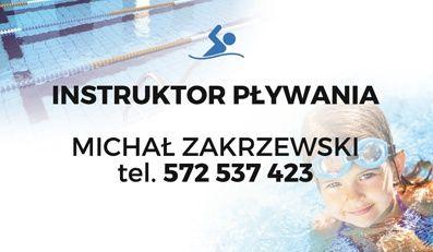 Nauka pływania doskonalenie pływania Instruktor Trener pływania