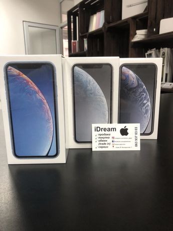 Apple iPhone Xr 64 / 128 / 256 gb White НОВЫЕ с ГАРАНТИЕЙ от МАГАЗИНА!