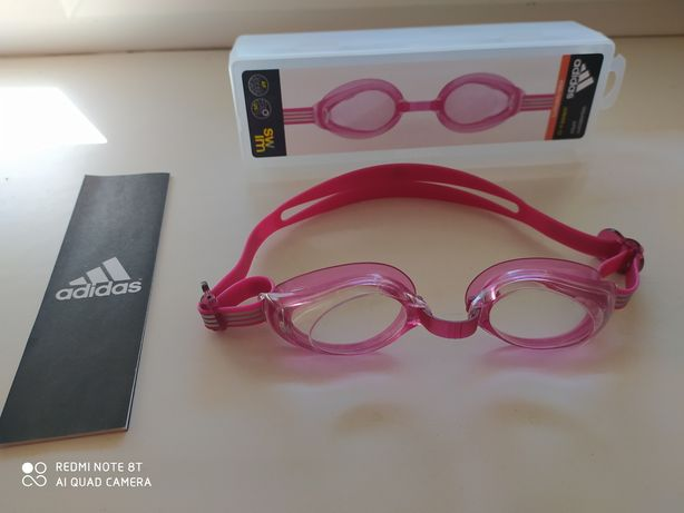 Фирменные новые очки для плаванья adidas.