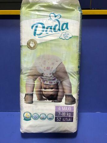 Підгузники Dada 52 штуки 4 maxi 7-18 кг