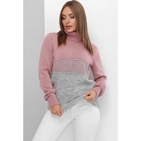 Теплые вязанные свитера