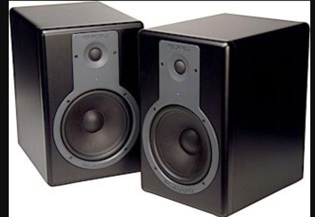 Monitores Estúdio M-audio BX8