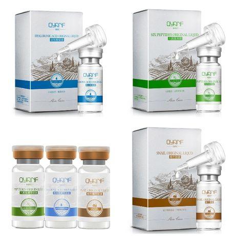 QYANF гиалуроновая кислота, экстракт улитки, аргирелин, пептиды, крем