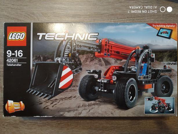 Klocki LEGO TECHNIC 42061 - Ładowarka teleskopowa 2in1
