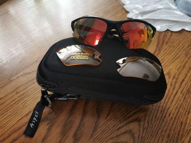 Okulary Aspex wymienne szkła