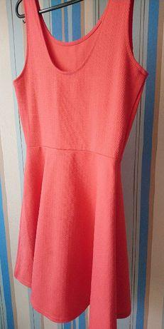 Różowa letnia sukieneczka H&M