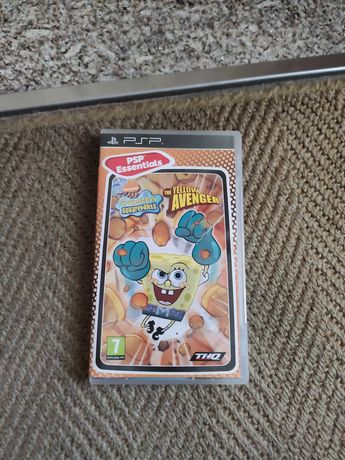 Jogo PSP SpongeBob Squarepants