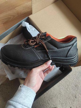 Nowe skórzane buty robocze marki BETA r 44