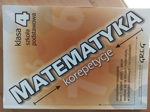 Zbiór zadań matematyka korepetycje kl4