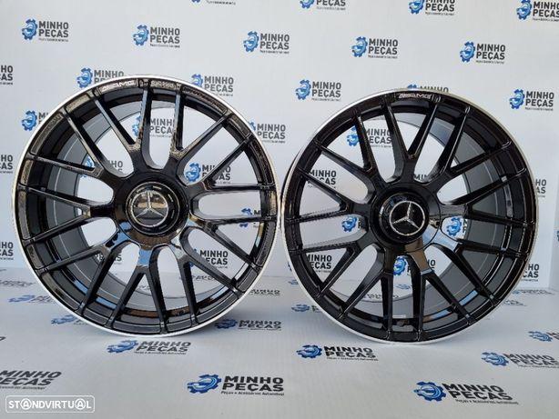 """Jantes Mercedes Novo (C63S) AMG em 19"""" Gloss Black"""
