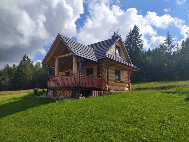 .Domek w górach u podnóża Babiej Góry