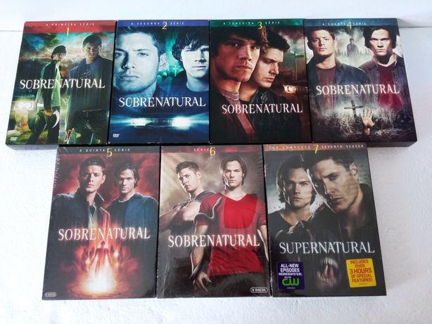Série DVD Supernatural (Temporadas 1-7)