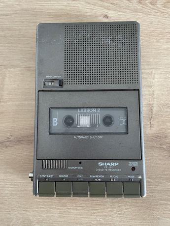 Magnetofon na kasety, dyktafon, Sharp ce-152