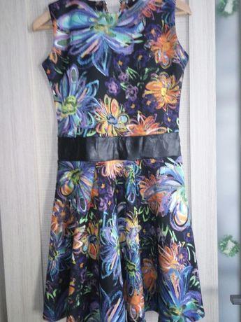 Продам веселенькое элегантное платье размер S