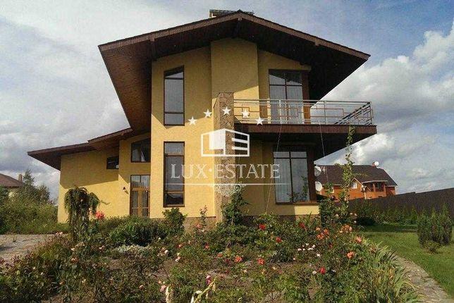 Аренда элитного дома с бассейном(640м),с.Гореничи,15 соток,4 спальни