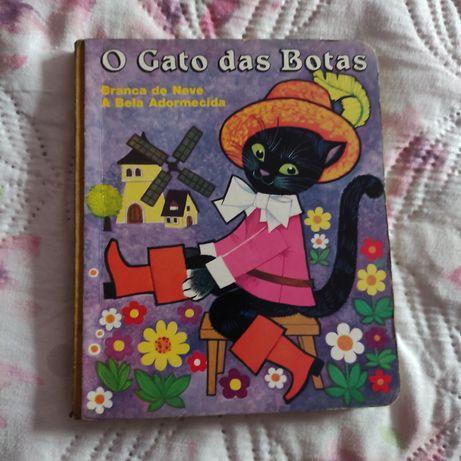 Livro infantil O gato das botas