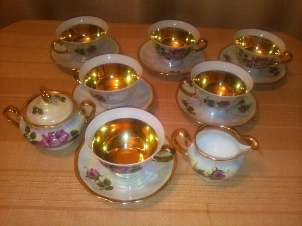 Zestaw porcelana serwis kawowy Jaworzyna
