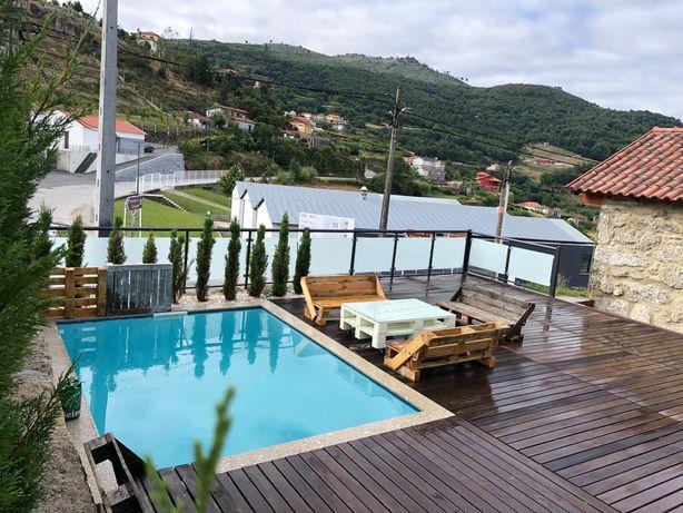 Casa de sonho com piscina