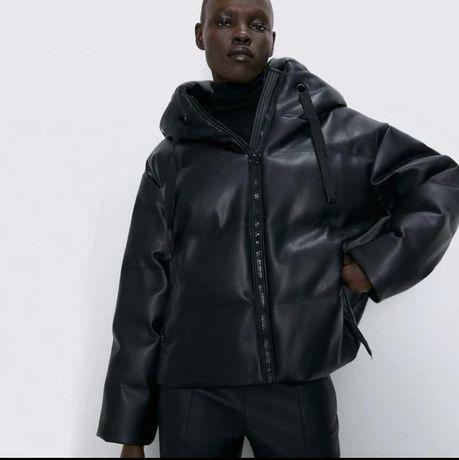 Куртка из эко-кожи  Zara