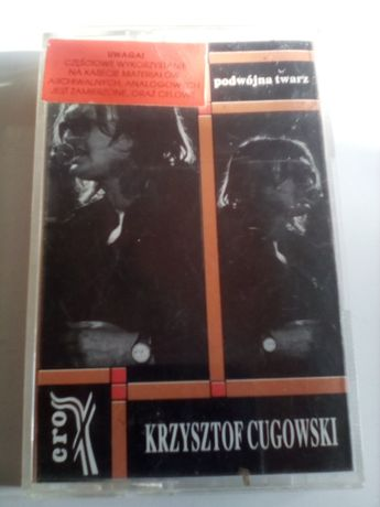 Kaseta audio Krzysztof Cugowski Podwójna Twarz
