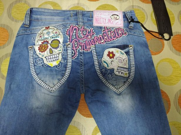 Продам джинсы новые 26р.