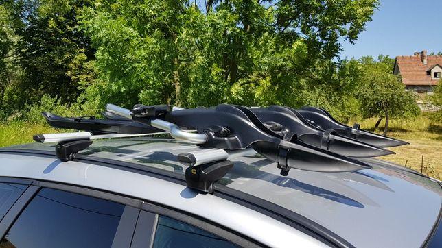 Uchwyt na rower na dach bagażnik na rower Mont Blanc Barracuda OneKey