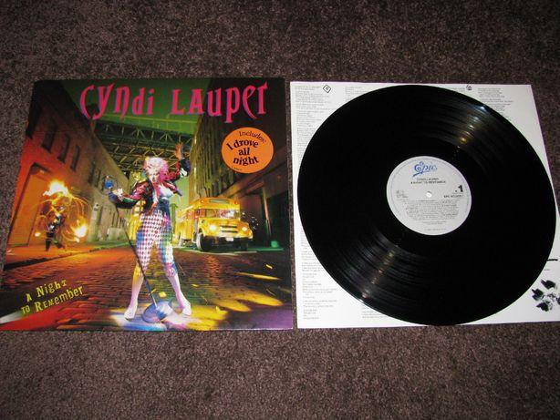 Cyndi Lauper – A Night To Remember, płyta winylowa