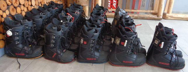 17 X Pakiet butów snowboardowych Burton, buty na deskę, 130 zł