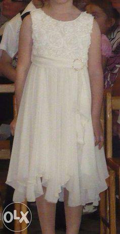 Шикарне шифонове плаття на випускний в дитячий садок.