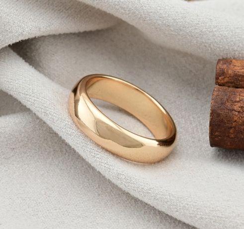 обручальное кольцо  6мм из мед золота, производитель Xuping
