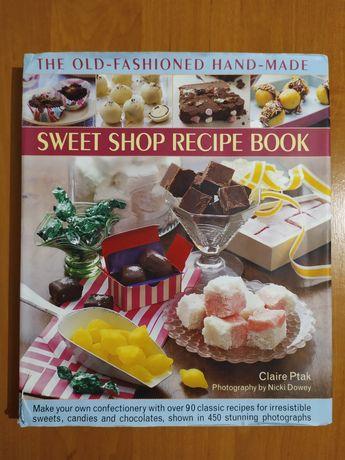 Кулінарна книга англійською. Рецепти солодощів.