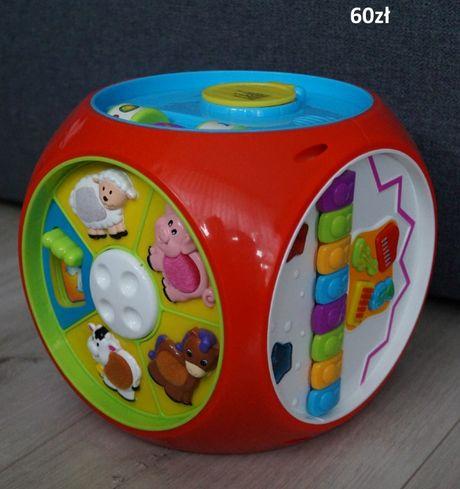 kostka edukacyjna / interaktywna dla dziecka