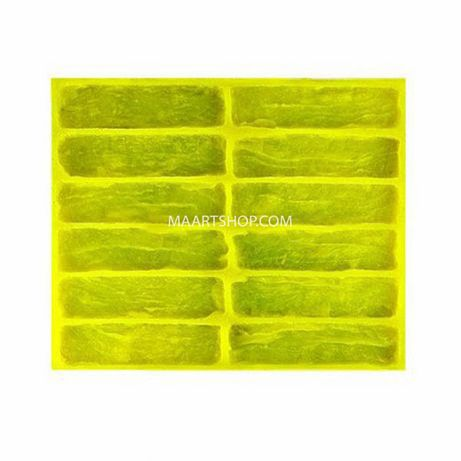 Эластичная полиуретановая форма для отливки гипсовой плитки Тулуза