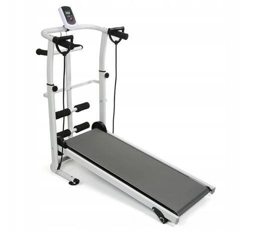Bieżnia domowa mechaniczna fitness składana cardio