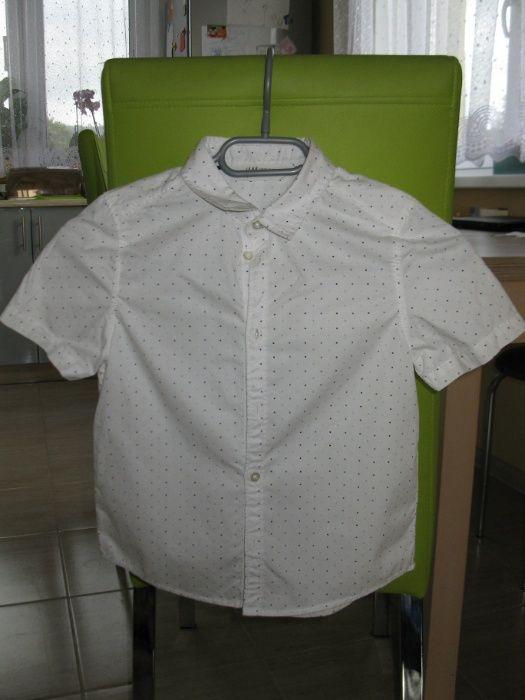spodnie i koszula hm 122 komplet Korczyna - image 1