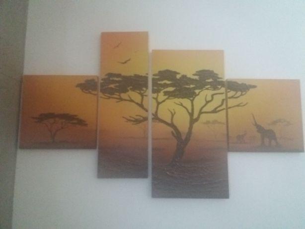 Obraz składany z 4 części