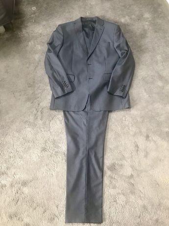 Męski wełniany klasyczny garnitur Vistula slim