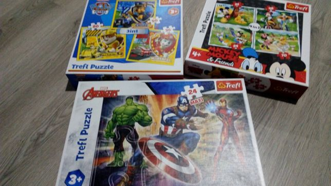 Nowe puzzle,bez foli na pudełku.