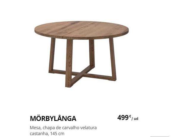 Mesa  de jantar redonda - Ikea