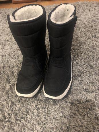 Дутики ботинки зима 34 р
