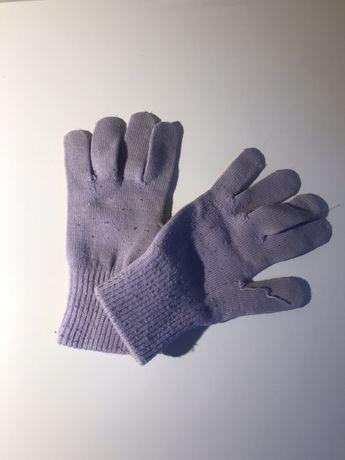 Rękawiczki dziecięce fioletowe H&M