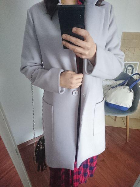 Płaszcz szary polski producent rozmiar 36